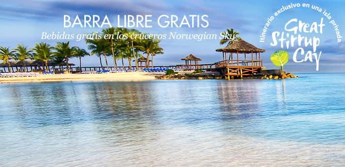 Bahamas desde Miami - BAR ABIERTO GRATIS, 4 días