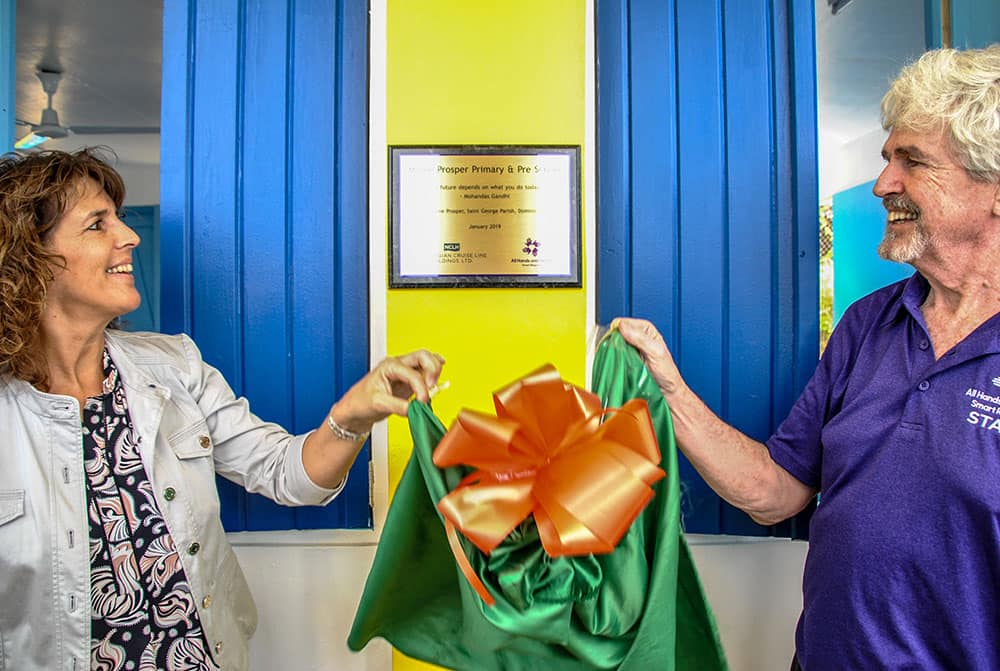 Hope Starts Here: reapertura de escuelas en Morne Prosper