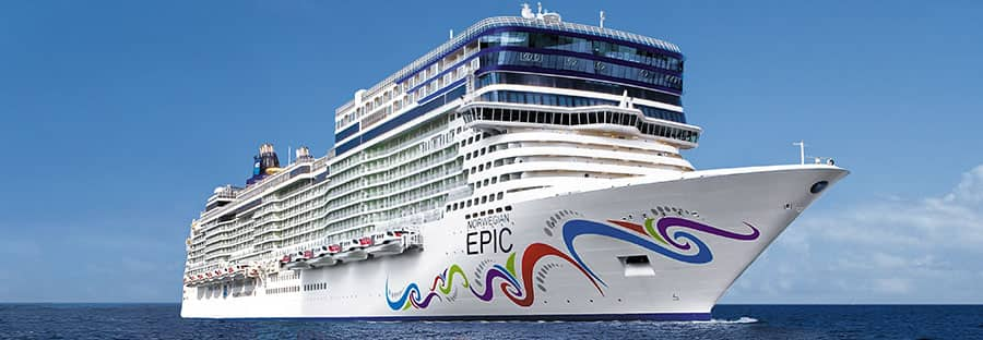 Crucero a Italia a bordo del Norwegian Epic