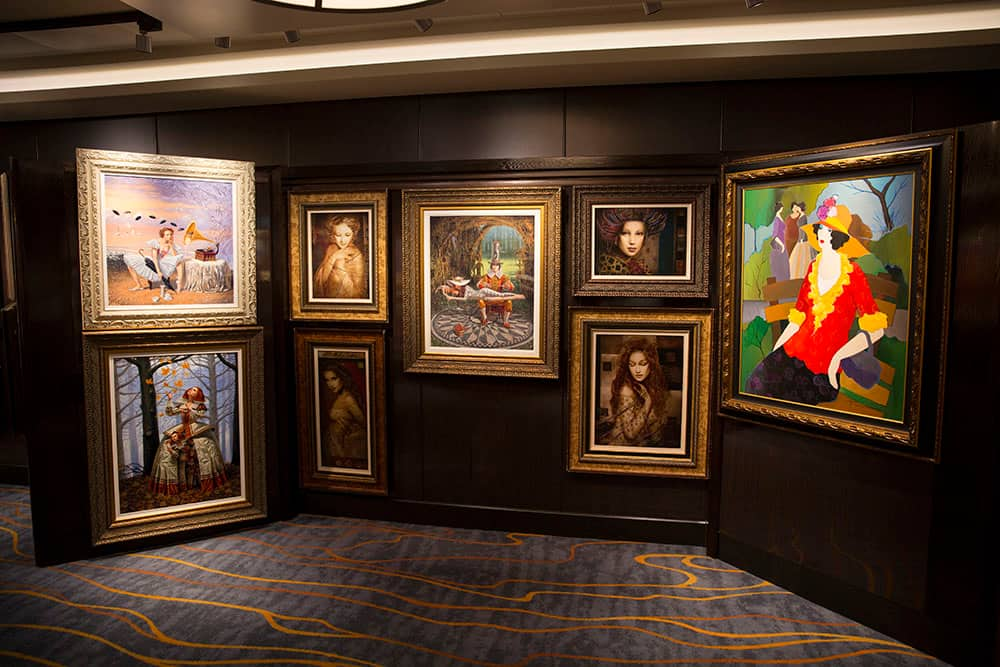Explore Art on Norwegian Cruise Line México Ships with Park West Gallery