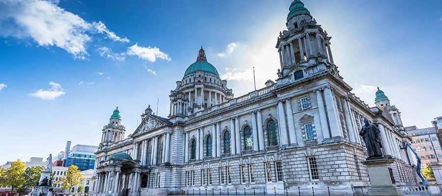 Ayuntamiento en Belfast, Irlanda