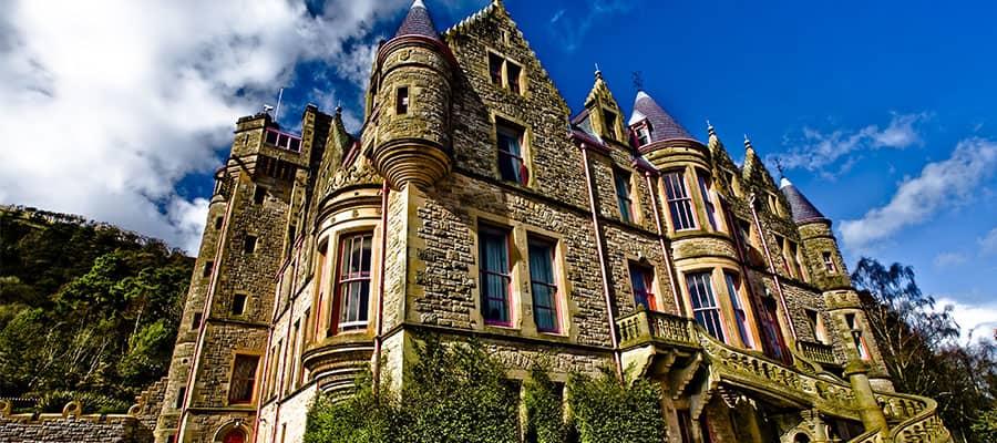 Castillo de Belfast en tu crucero por Europa