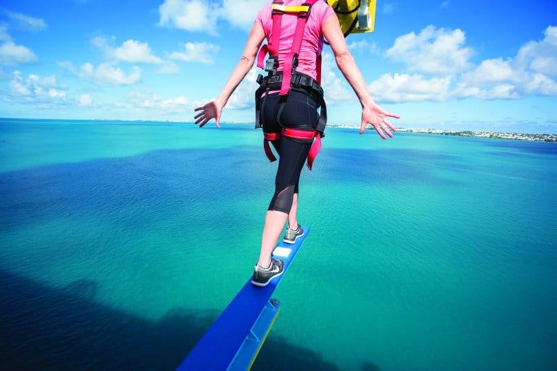 Walk The Plank on Norwegian Cruise Line México Ships