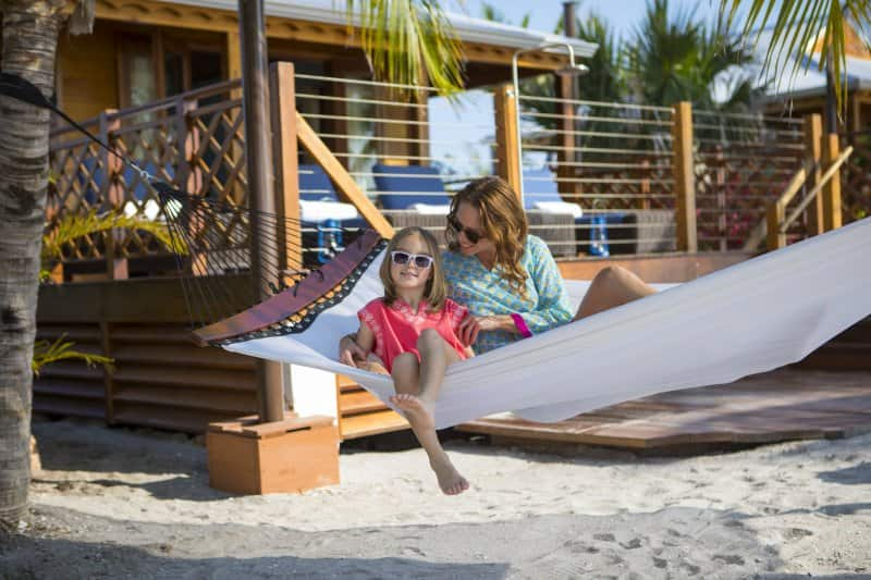 Rent a Private Cabana in Harvest Caye