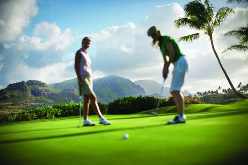Play Golf in Hawaii with Norwegian Cruise Line México