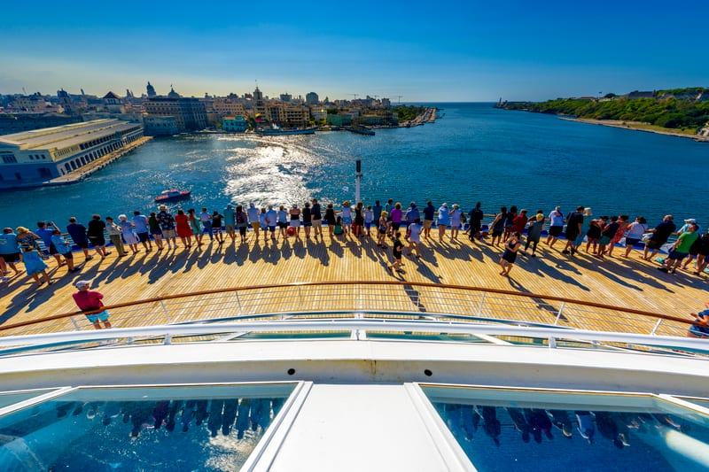 Cruise Tips: What to Expect on Embarkation Day