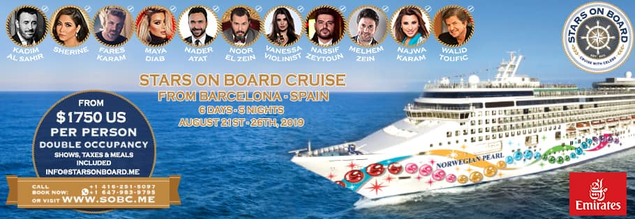 Crucero Stars on Board